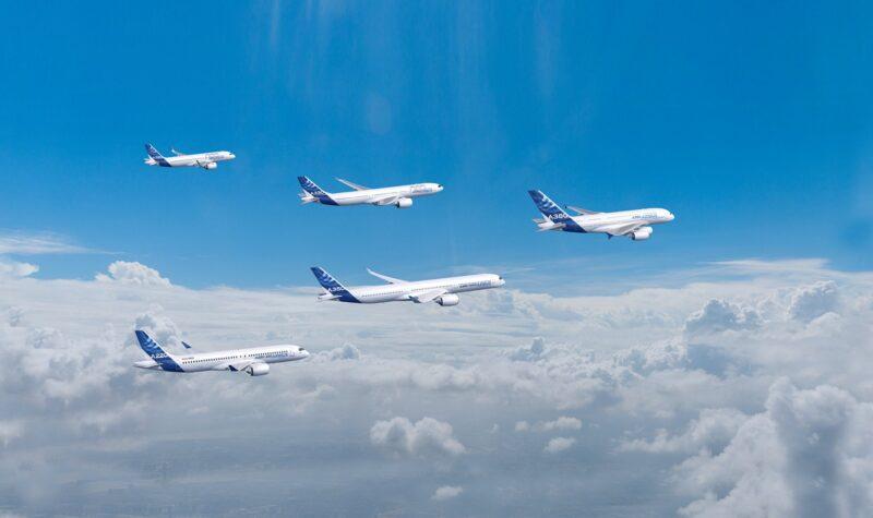 Airbus produceert in juli meer vliegtuigen