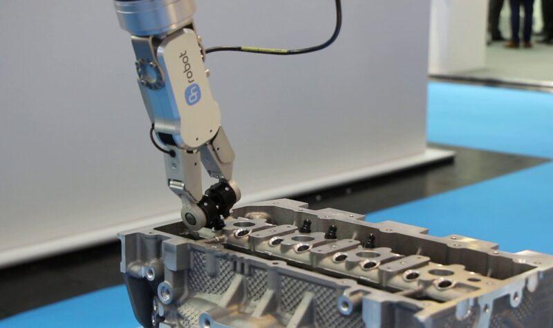 Experience Center voor Olmia Robotics