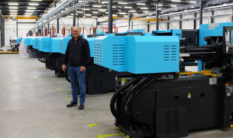 Klaar voor de toekomst met 15 nieuwe spuitgietmachines