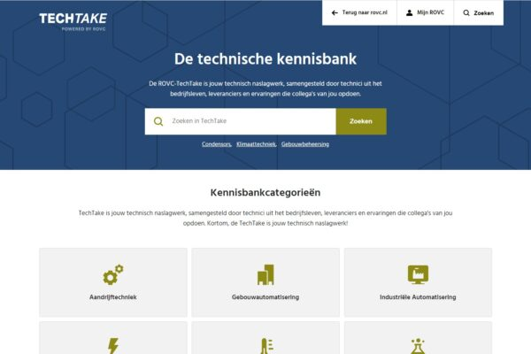 Technische kennisbank TechTake gratis beschikbaar