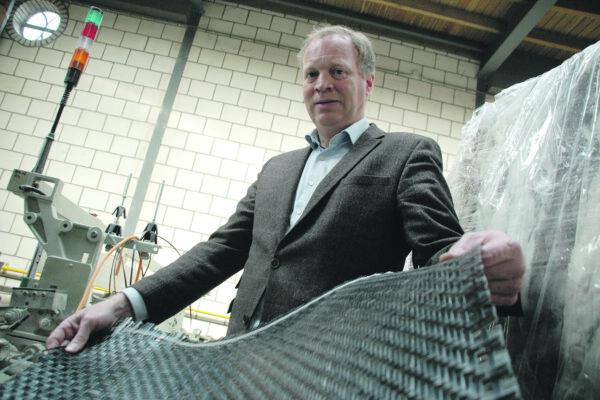 Textielbedrijf zoekt toekomst in weven nieuwe composietmaterialen