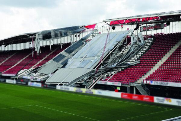 Onderzoeksraad: Instorten dak AZ-stadion staat niet op zichzelf (video)