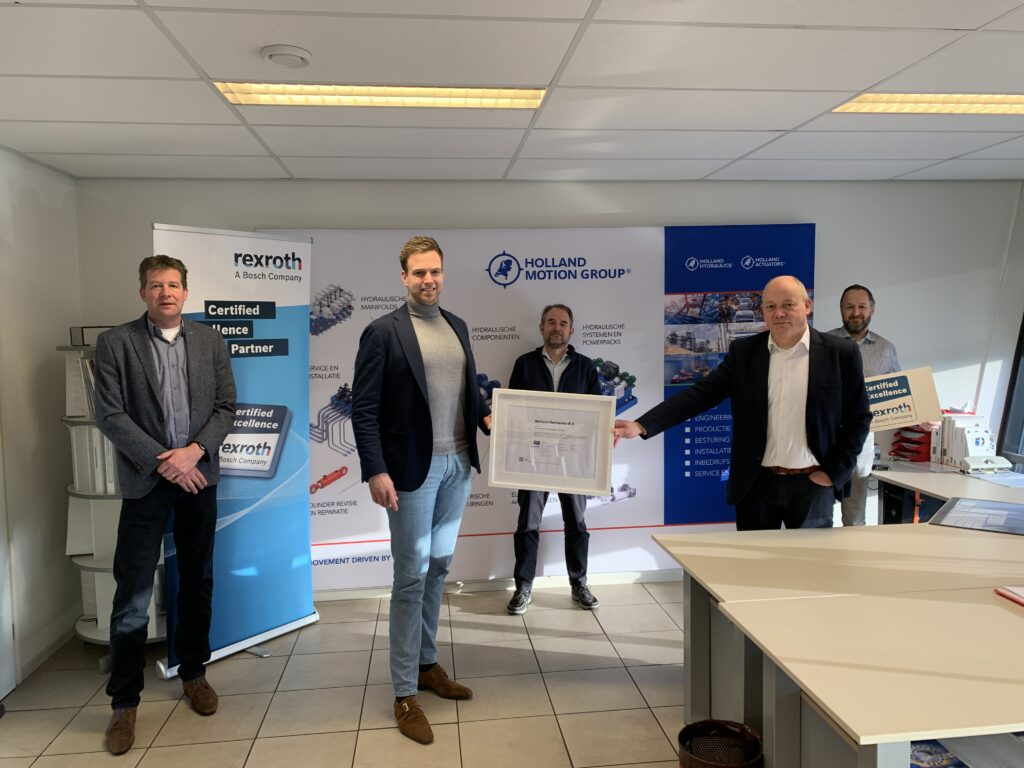 Holland Hydraulics  Certified Excellence Service Partner van Bosch Rexroth