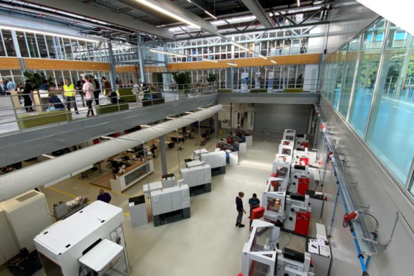Eerste Duits-Nederlandse Fieldlab richt op Digital Twin