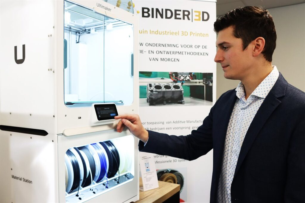 Subsidie voor Slimme Demofabriek met proeftuin Industrieel 3D-printen
