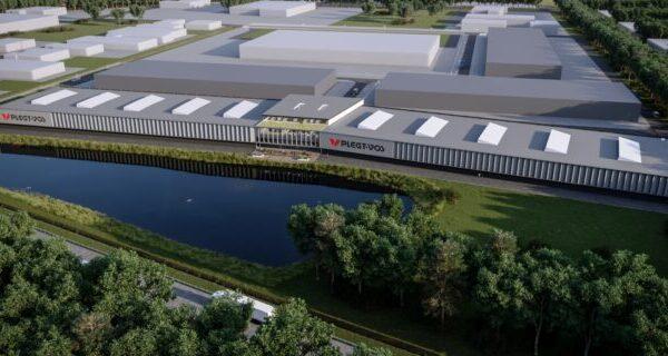 Gerobotiseerde fabriek voor productie kant-en-klare woningen