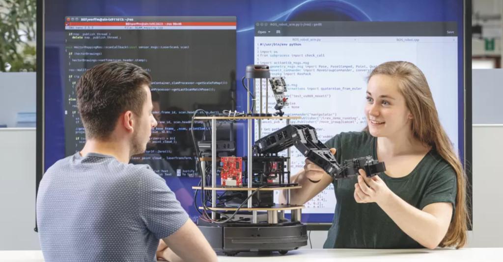 Ook Saxion komt met Robotics master