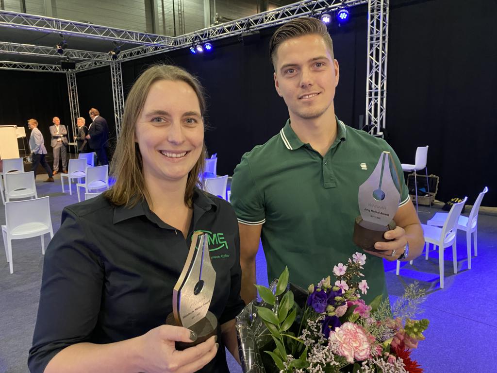 Nikki van der Zouw en Robin Segers winnen Awards op Nederlandse Metaaldagen