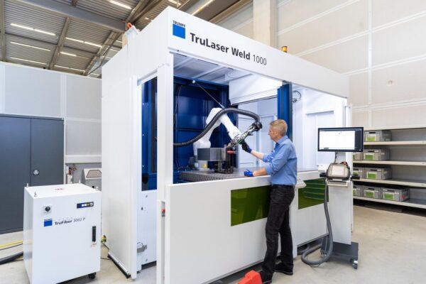 Geautomatiseerd laserlassen voor kleinere bedrijven