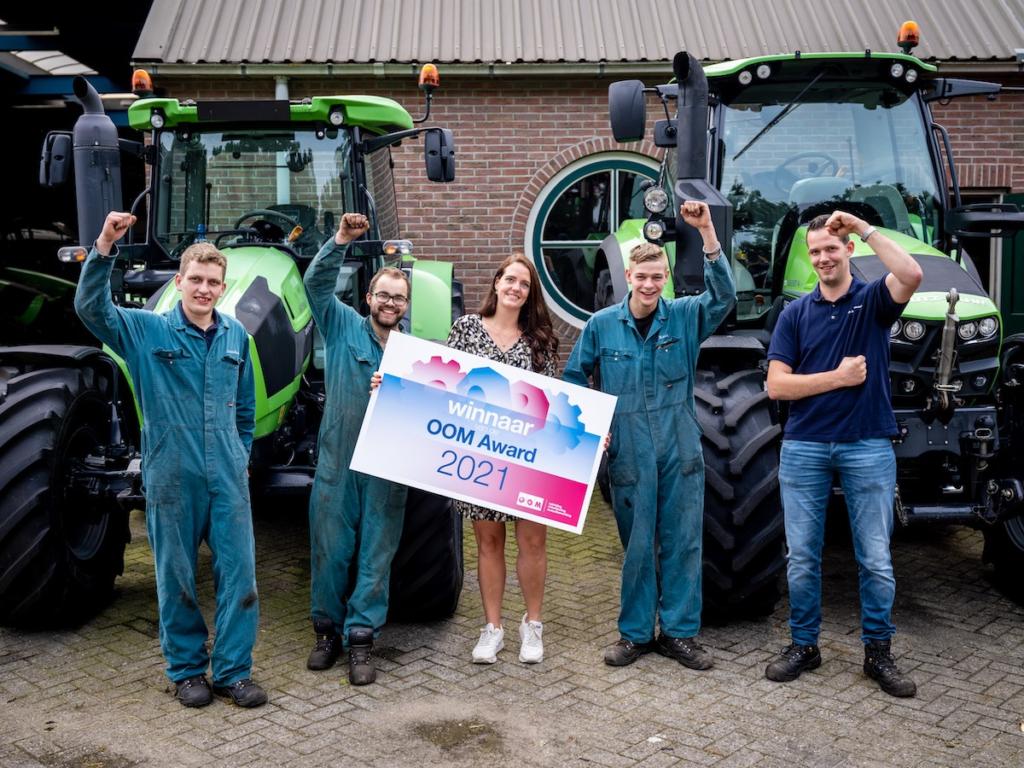 W.H. de Bruijn meest actieve leerbedrijf Midden-Nederland
